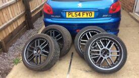 18 inch 5x100 alloy wheels