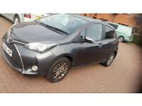 2016 Toyota Yaris 1.33 VVT-i Icon 5dr £30/Year Road Tax. First MOT Due 12/2019