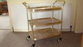 Beautiful 1980's trolley in excellent condition.