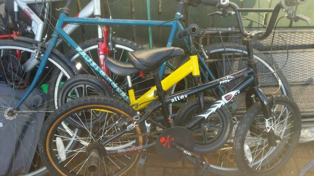 Joblot of bikes £40