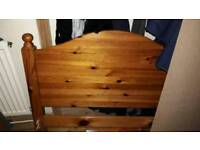Free Pine single bed frame