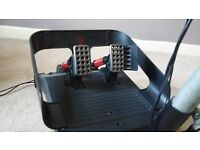 Mad Catz Force Feedback Steering Wheel & Pedals with Stand