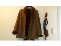 womans sheepskin jacket for sale