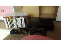 Playstation 3 with 18 games