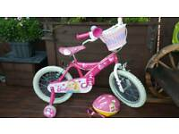Girl Barbie 16 inch bike VGC