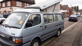 TOYOTA HIACE REIMO POP UP ROOF CAMPERVAN 63,000 MILES UK VEHICLE