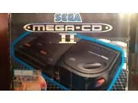 SEGA MEGA CD 2 + SEGA MEGA DRIVE 2