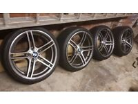 Bmw style 313 m sport alloys 3 series