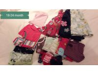 18-24 months girls clothes bundle
