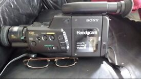 Sony Camcorder with bag Not working