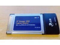 BT Voyager 1065 Wireless Laptop Adaptor