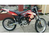 Aprilia rx50 reduced due to time wasters