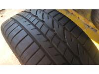 225 45 17 1 x tyre Dunlop Sp Sport 01 A RUN FLAT