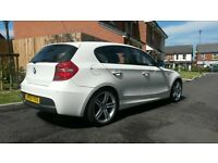 2009 59 bmw 116 m-sport 6-speed fully loaded 50k history full mot excellent cond £5795