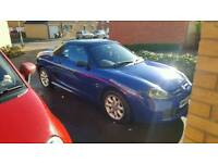 Mg tf 1.6 115 convertible with mot until January 2018