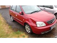 Kia CARENS mot 5 months towbar good runner