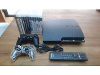 PS3 plus 12 Games and Extras