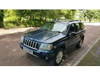 4X4 JEEP GRAND CHEROKEE 2.7 CRD AUTOMATIC FULL LEATHER DRIVES VERY WELL,with extractable TOW BAR!!!