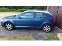 Audi A3 Special edition 1.6l petrol for spares or repairs