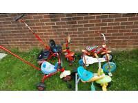 Small kidies bikes