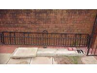 Wall fence iron