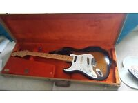Electric fender guitar for sale