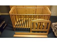 Mamas&Papas baby/junior bed frame