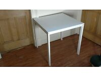 Ikea Melltorp Square Table White - Excellent Used Condition