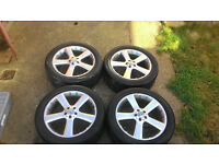 Genuine Mercedes Wheels 20 inch Pirelli Scorpion Tyres Mercedes alloys part number A1644011102