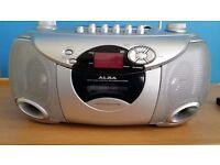 Alba Portable CD Cassette Radio