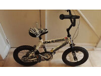 Boys 12 inch pro bike wolf with or without stabilizers