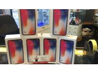 IPHONE X BRAND NEW SEAL BOX 64GB UNLOCKED FULL 12 MONTH APPLE WARRANTY