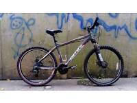 Bargain!! Adults carrera vengeance 24 speed 18 inch frame 26 inch quick release wheels mountain bike