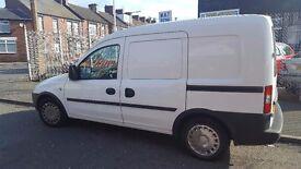 Vauxhall Combo 1.3 van 41,000 miles 2009