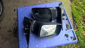 vauxhall astra pair of door electric mirrers