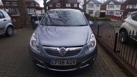 CORSA MY DESIGN AUTOMATIC 2008 VERY GOOD CONDITION FOR QUICK SALE