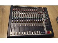 Souncraft MFXi 20 channel mixing desk with built-in lexicon effects