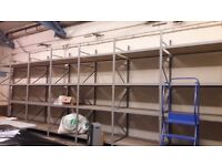 Used warehouse and office racks