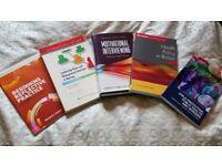 Nursing/Health Visitor University Textbooks Like New