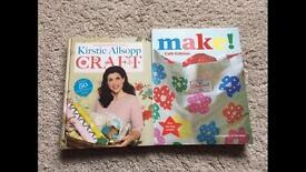 Cath kidson make and Kirsty allsopp craft books