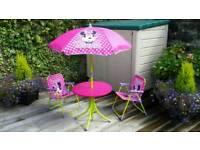 Minnie Mouse Outdoor 4 Piece Garden Set