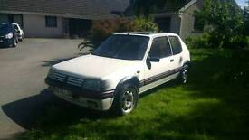 Deposit taken, Peugeot 205 1.6 GTi, 1.9 Mi16, Alpine White, Trackday Car??