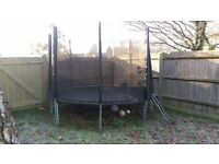 10ft trampoline.. needs to go..good condition ..new enclosure