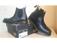 Dr Martens 8250 Occupational SIZE 10 Leather Industrial Non-Safety Chelsea Boots