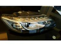 Audi q7 complete tri zenon headlight with cornering light complete with ballasts motor and bulb