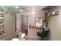 Room to rent for beauty, therapy, treatments and nail bar for self employed use