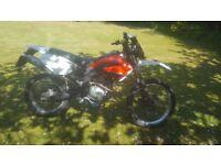 Derbi Senda Baja 125cc Motorbike