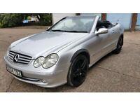 MERCEDES CLK 240 CONVERTIBLE AUTO ELEGANCE LONG MOT HISTORY £2200