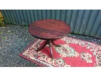 Dining table ideal for shabby chic