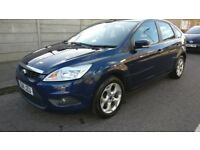 Ford Focus 2011 1.6 Petrol Automatic 33,000 Mileage 1 YEAR MOT, BLUE, CLEAN CAR, SAT-NAV